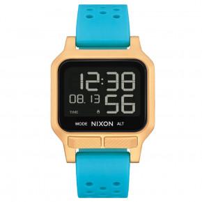 NIXON HEAT AQUA/GOLD