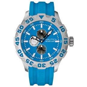 Nautica BFD100 MULTI Multifunction Blue Resin Strap
