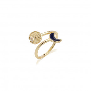 JCOU SUN AND MOON RING