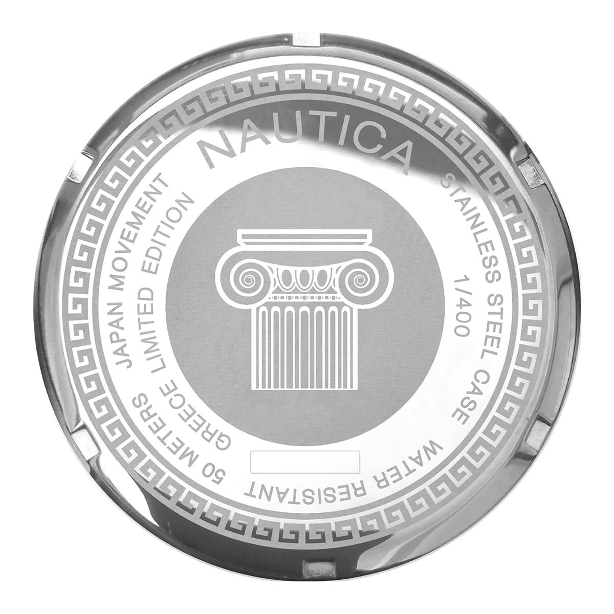 NAUTICA GREEK LIMITED EDITION WATCH CASEBACK